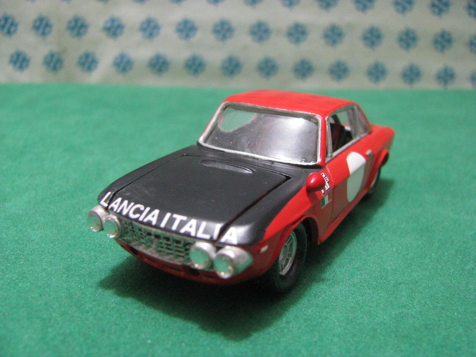 Vintage -  LANCIA  FULVIA HF  Coupè  rally MonteCochelo -  1 43 Elab. Mercury 1972