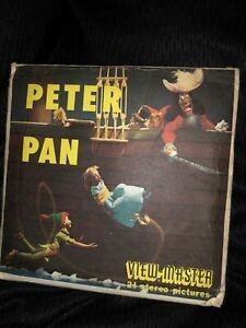 Sawyer's B372 Walt Disney's Peter Pan Disney view-master Reels Packet Set
