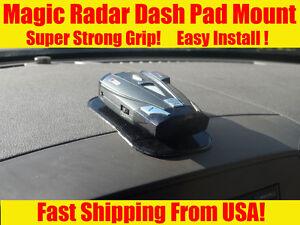 radar detector mount dashboard  beltronics passport cobra escort valentine ebay