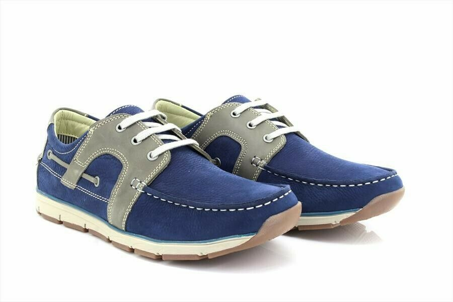 Roamers M9544 Mens SUPERLIGHT Moccasin Leisure Lace Up shoes