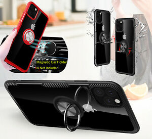 Ring-Case-For-iPhone-11-Pro-Max-6-7-8-Clear-Shockproof-Hybrid-Hard-Armor-Cover