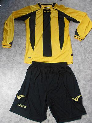 "Teamsport-Trikot-Sets  /""Dresda/"" Legea gelb // schwarz Gr S,"