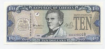Liberia 50 Dollars 1999 Pick 24 UNC Uncirculated Banknote