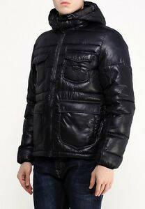 NEW  LEE PUFFER JACKET QUILTED BLACK  PARKA WARM WINTER 101  S/M/L/XL