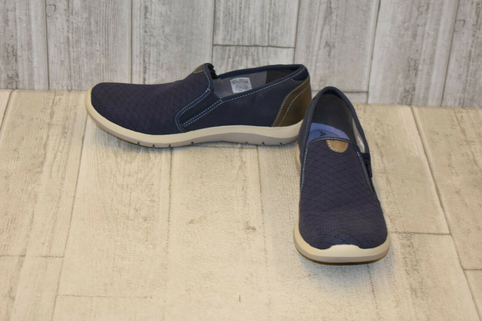 Aravon Wembly Side Zip Casual Slip On shoes - Women's Size 10 2A - bluee
