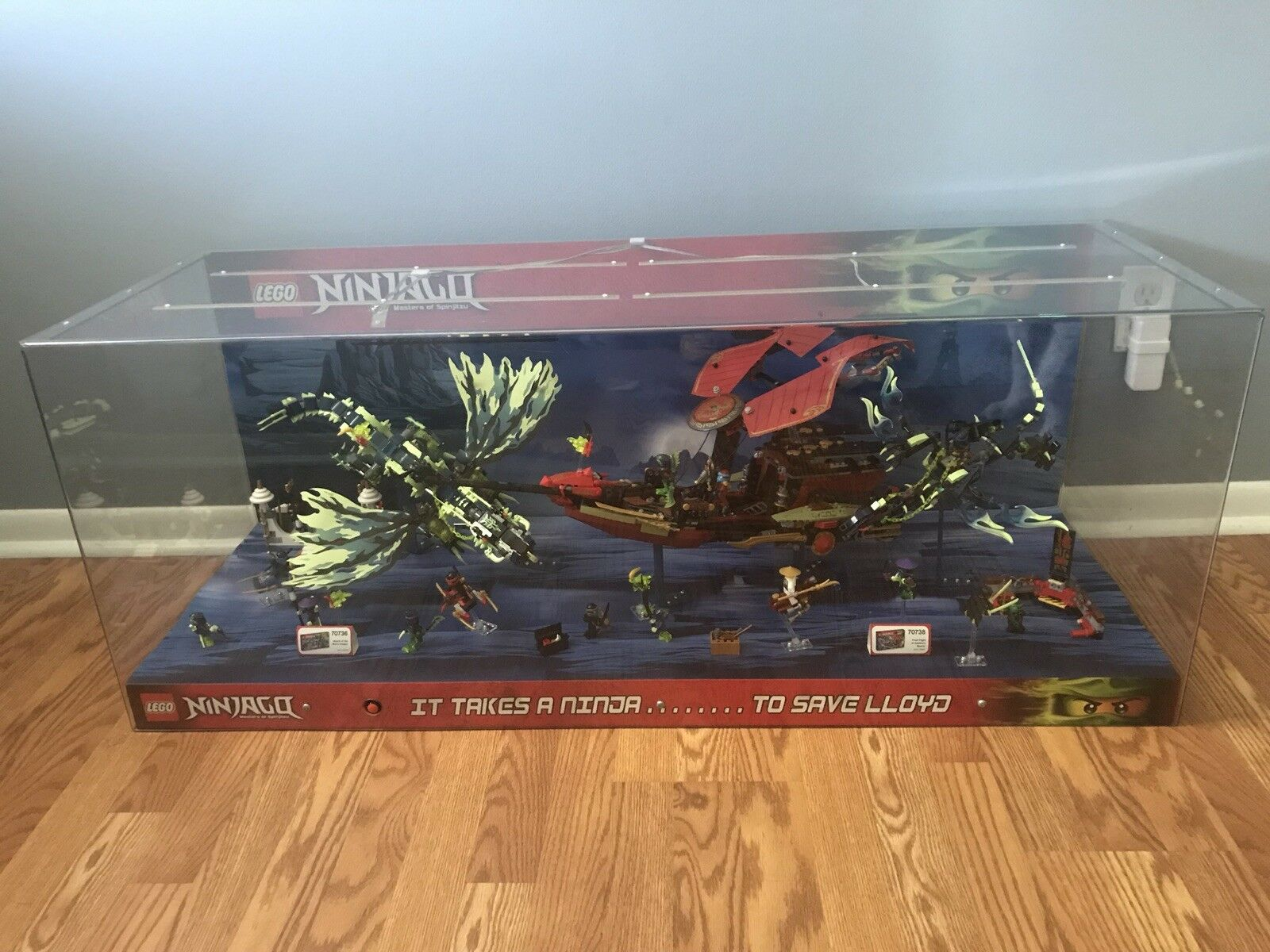 Lego Ninjago Masters of Spinjitzu Morro Dragon & Destiny's Bounty 70736-70738