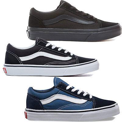 Vans K Old Skool Kinder Sneaker Schuhe Turnschuhe Halbschuhe Schnürschuhe   eBay