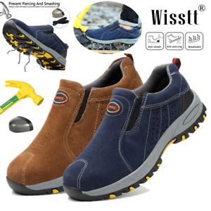 Men-039-s-Work-Boots-Safety-Shoes-Steel-Toe-Cap-Indestructible-Lightweight-Sneakers