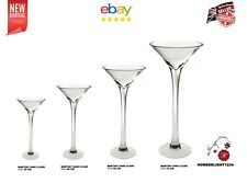 MARTINI VASE GLASS WEDDING TABLE CENTREPIECE AND HOME DECOR-WEST MIDLANDS