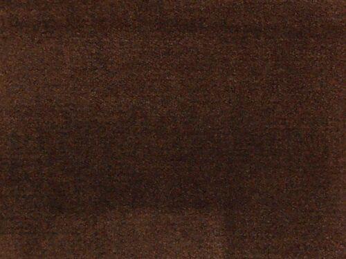 Hilo para cada 12 x botones de tapicería en marrón de terciopelo naturales 20 mm de diámetro