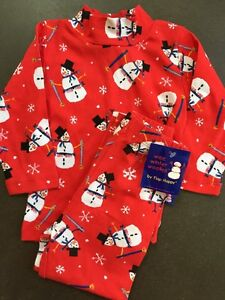 e8f5eb9babcfa Girls 2T Boutique FLAP HAPPY Red Snowman Christmas Outfit NEW NWT ...
