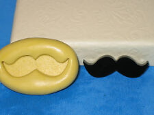 Mustache Silicone Push Mold A457 For Cup Cake Chocolate Resin Clay Craft Isomalt