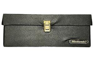 Vintage Original Nintendo NES Game Storage Case 15 Cartridge Holder Carry Box