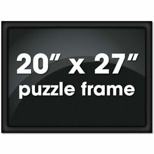 Bits And Pieces Metal Puzzle Frame Custom Black Channel Frame
