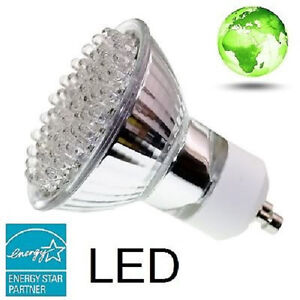 SuperLED Lighting GU10 60 LED 4W 120V Equivalent to 60W ...