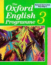 The Oxford English Programme: National Curriculum Key Stage 3 Bk.3, Kitchen, Dav