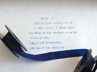 Smith Corona Silent Super Blue Ink Typewriter Ribbon + Free Shipping