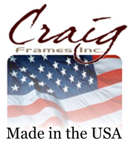 Craig Frames Ruskin Ornate Black and Gold Wood Picture Frame