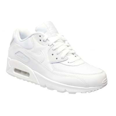 Nike Air Max 90 Essential White / White (N85) 537384-111 Mens Trainers All Sizes