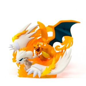 Pokemon-TCG-Reshiram-amp-Charizard-Collection-Box-Official-Figure-Figurine