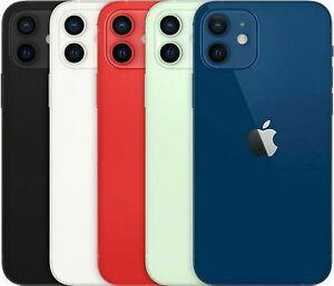 Apple iPhone 12 256 GB Blau Schwarz Rot Weiß WOW OHNE VERTRAG WIE NEU