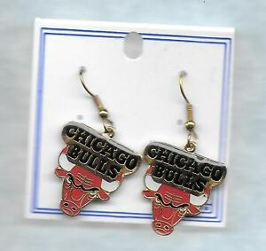 Image Is Loading Peter David Chicago Bulls Earrings