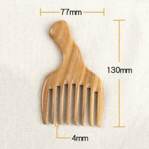 Pro-Handmade-Wooden-Sandalwood-Wide-Tooth-Wood-Hair-Comb-Smooth-Massager-Tool