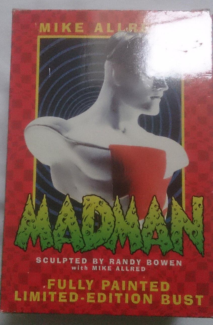 Bowen Madman mini bust statue statue statue with box VGC rare 8d2449