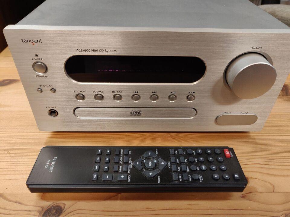 CD afspiller, Andet mærke, Tangent MCS 600 mini CD system
