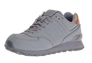 New Balance Men's ML574 Sneaker - color  Gunmetal