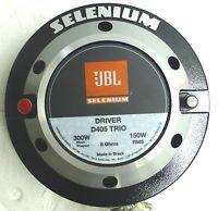 Jbl Selenium D405 Trio Super Driver 150w Rms 8 Ohms 2 Exit