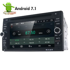 In Dash Double Din Android 7.1 Car DVD Player Radio Stereo GPS RAM:2GB 3G OBD2