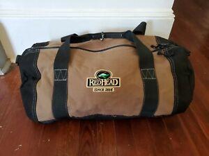 Redhead duffel bags