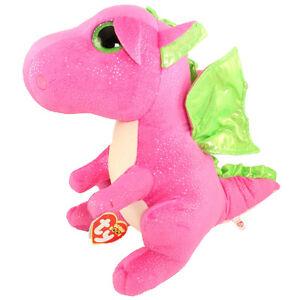 5cbf1411462 TY Beanie Boos - DARLA the Dragon (LARGE Size - 17 inch) - MWMTs Boo ...