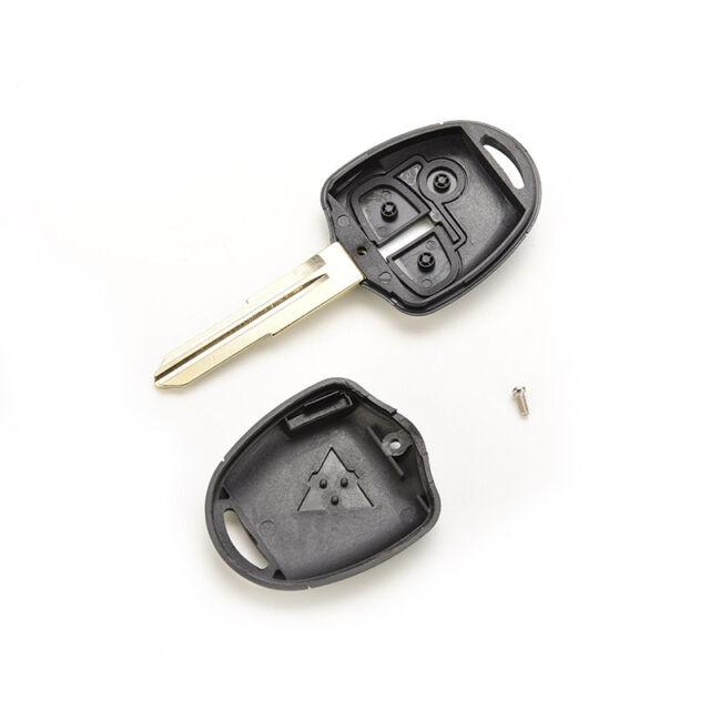 Remote Key Shell fit For MITSUBISHI Lancer Outlander Colt Mirage Uncut Case AT