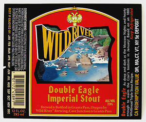 Wild-River-Brewing-DOUBLE-EAGLE-IMPERIAL-STOUT-beer-label-OR-12oz-ABV-7-9