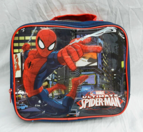 Spiderman Insulated Lunch Bag - BNWT - Genuine Licensed Product