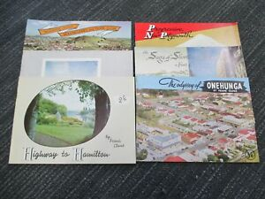 Very-Rare-Frank-Clune-Dominion-Breweries-6-Booklets-Travel-Colour-Photos-H50
