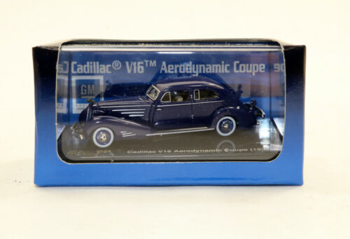 bc Ricko #38860-1934 Cadillac V16 Aerodynamic Coupe HO 1:87 scale dark blue