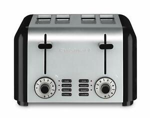 4-Slice-Toaste-CUISINART-CPT-340-Compact-Brushed-Stainless