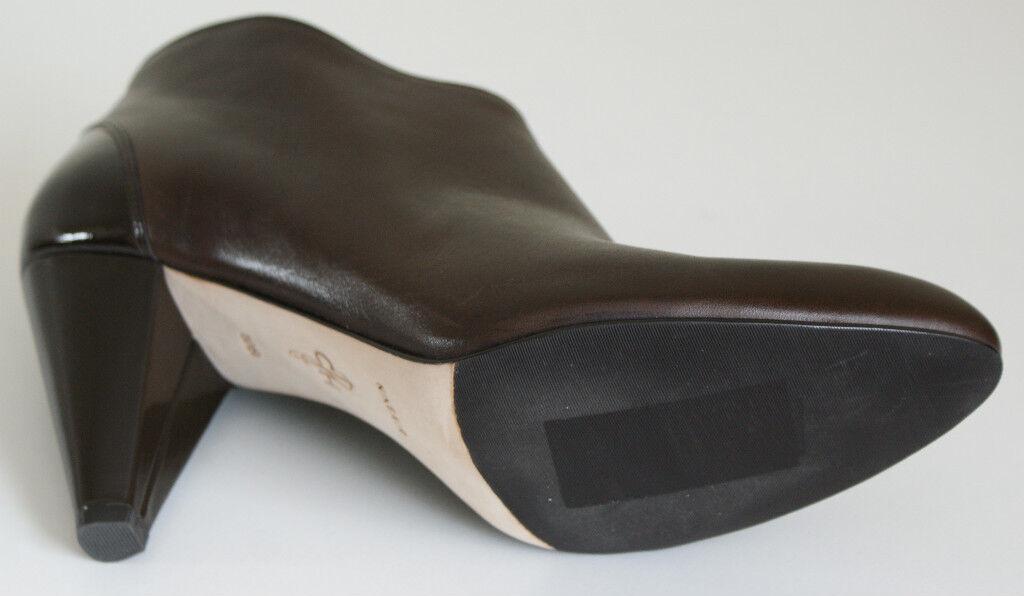 Cole Haan AIR CLAIR Braun Damenschuhe Leder ANKLE Zip Stiefel Damenschuhe Braun 10 NEW IN BOX cf1bd7