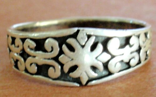 925 STERLING SILVER SHIELD RING select your size
