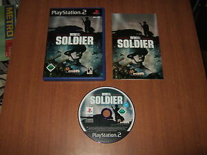 WWII-Soldier-World-War-2-fuer-Sony-Playstation-2-PS2