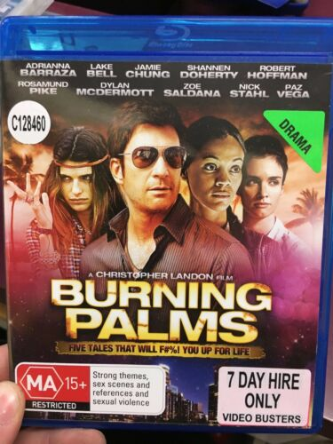 1 of 1 - Burning Palms ex-rental blu ray (2010 Zoe Saldana movie) cheap