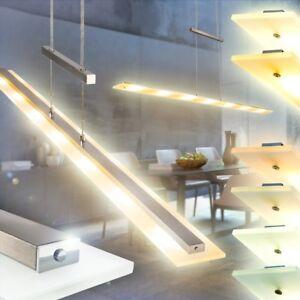 led pendelleuchte mit tastdimmer ess wohn zimmer lampen flur leuchten h ngelampe ebay. Black Bedroom Furniture Sets. Home Design Ideas