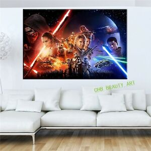 Star-Wars-Episode-The-Force-Awakens-canvas-painting-poster-wall-print