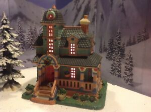 Christmas Village Houses.Details About Lemax Christmas Village Houses