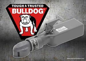 "straight channel  12,500 lbs Bulldog 2 5//16/"" ball high profile Coupler 028462"