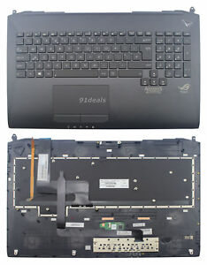 New US Asus G750 G750J G750JH G750JM G750JS Backlit Keyboard with Palmrest