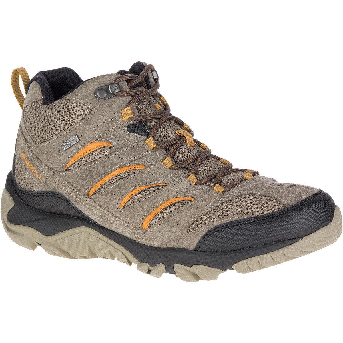 Merrell Men's Ventilator White Pine Mid Waterproof Walking Hiking Boots shoes